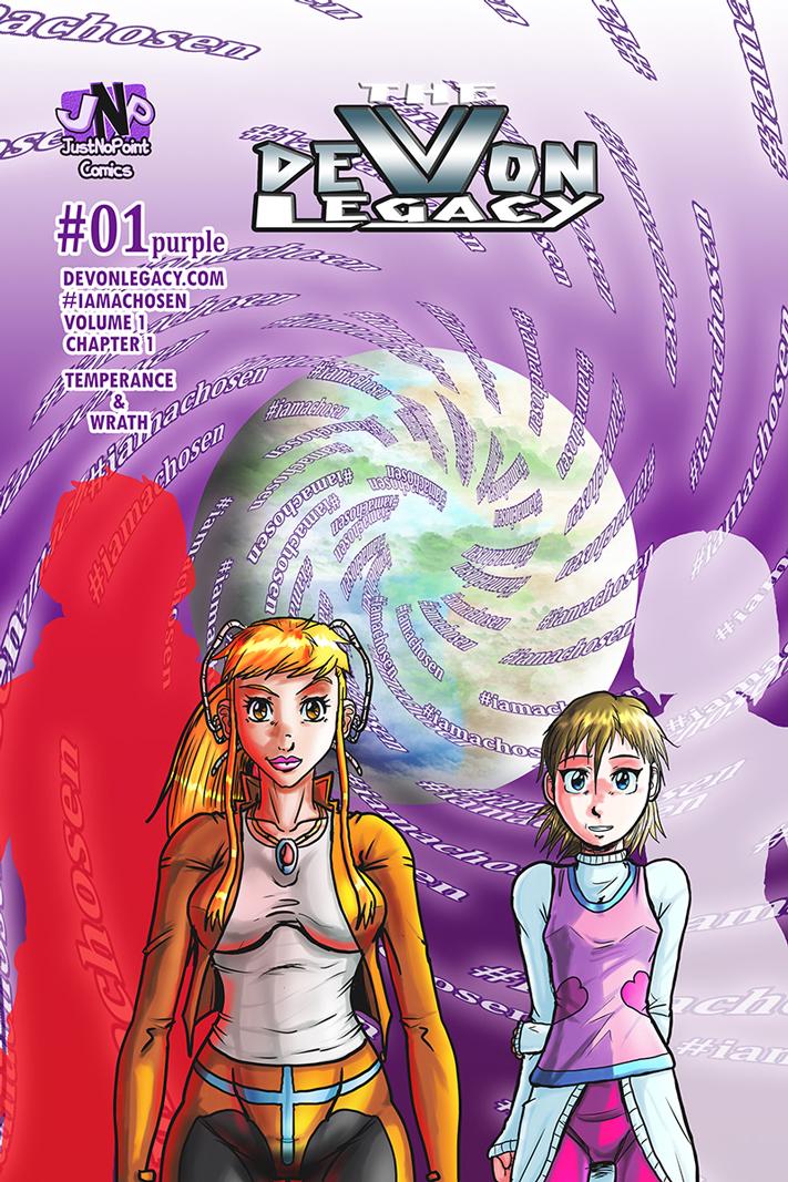 Issue 01 - #iamachosen purple side